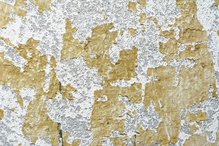 Concrete texture, wall background with old paint peel