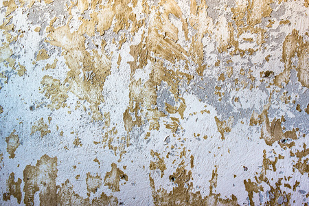 Background of wall, white texture with flaking paint