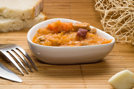 Stew of cabbage, christmas dish in traditional polish cuisine