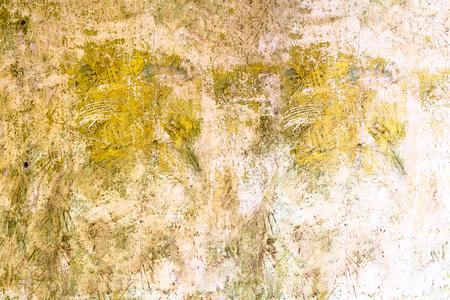 汚れた壁テクスチャ、レトロな背景 写真素材