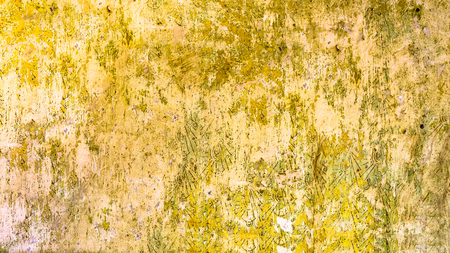 Wall texture, retro background with old scraped paint 版權商用圖片