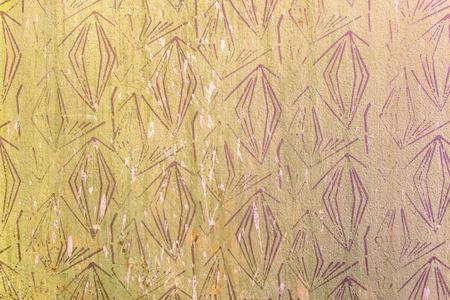 형상 패턴, 복고풍 배경, 80 년대, 70 년대 스타일로 오래 된 벽 텍스처