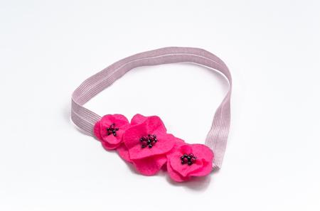 Elastic headband for a baby isolated on white background 版權商用圖片 - 91119872
