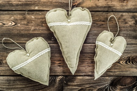 심장 모양, 크리스마스 장식 매달려 섬유 장식 베개