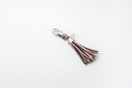 Key chain isolated on a white background