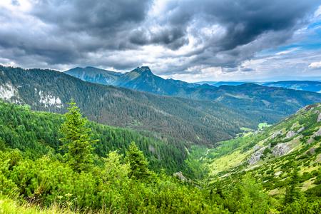 谷と山のパノラマ、ポリッシュタトラ山脈