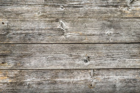 Old wooden background, grunge surface of gray boards Archivio Fotografico