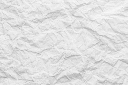 Creased paper texture, white background abstract Stock fotó - 95333506