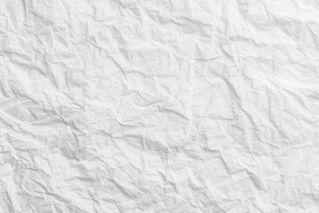 Creased paper texture, white background abstract