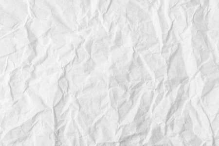 Background of white paper, creased texture Stock fotó - 95333476