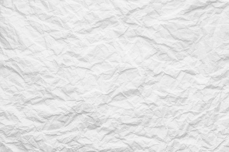 Creased paper texture, white background abstract Stock fotó - 95333477