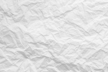 Creased background of white paper, texture