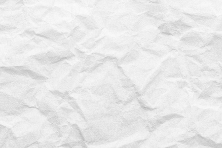 White paper background, creased texture