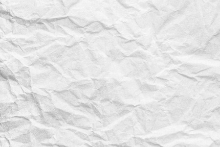 Abstract background of creased white paper, texture