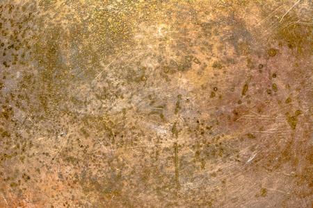 Heavy metal texture, rusty grunge background Imagens
