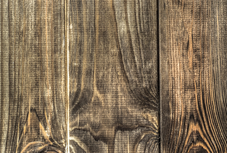 Brown wood background texture from wooden planks.
