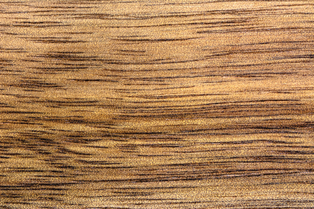 Background of wooden table. Oak wood texture in brown color.