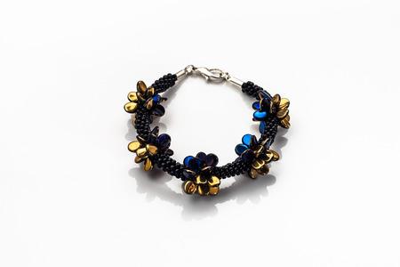 Elegant bracelet isolated on a white background. 写真素材