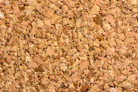 Brown cork board texture, wooden pattern