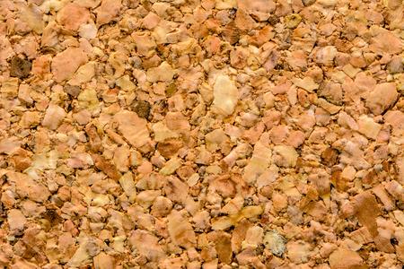 Closeup of cork texture, corkboard background Foto de archivo - 110841473
