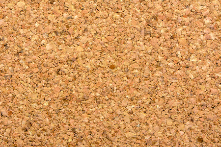 Cork background, brown board texture