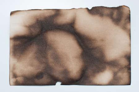 burnt paper: burnt paper Stock Photo