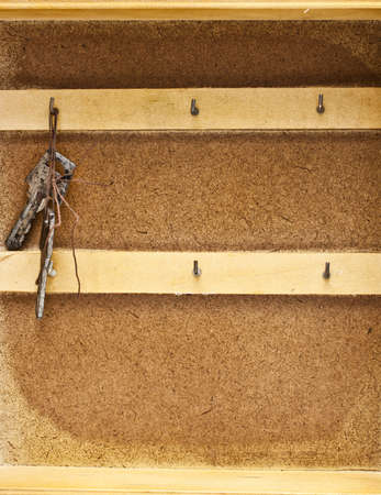 storage: Keys storage Stock Photo