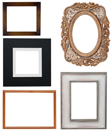 wood molding: Picture frames set