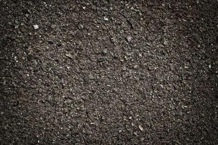 bitumen: abstract asphalt  background bitumen black close construction