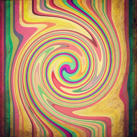 scrapbooking paper: psychedelic vintage shabby grunge multicolor poster. Scrapbooking paper