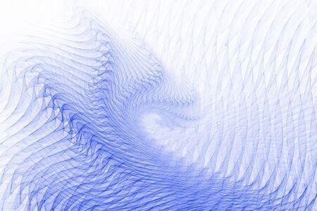 Vibración de las ondas - llama fractal con asombroso detalle.
