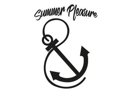 Summer pleasure Vektoros illusztráció