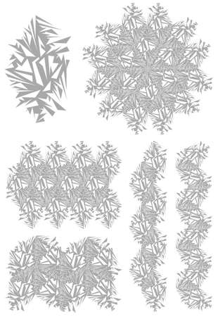 element from which you can make various versions of the background Vector