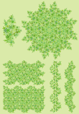 element from which you can make various versions of the background Illustration