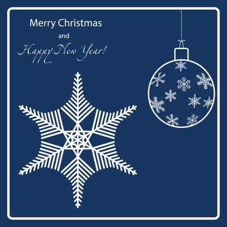 holiday: Holiday Snowflakes Christmas balls