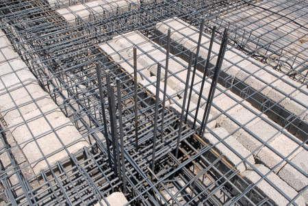 construction iron Banque d'images