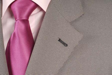suit detail Stock Photo