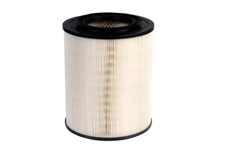 air filter, auto spare part, clipping path