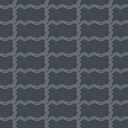 carpet clean: Vector seamless pattern with gray rectangular tiles ornamental illustration with mosaic of stone.