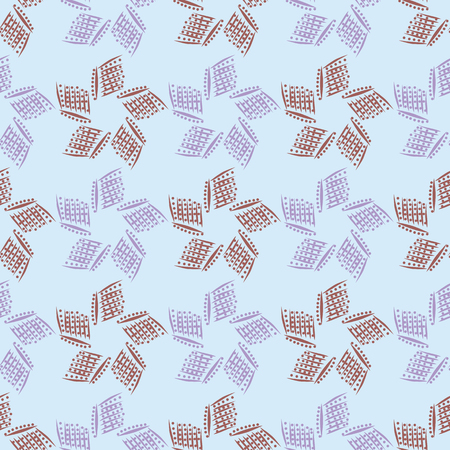 dashes: Background vector illustration of seamless pattern of dashes and dots.