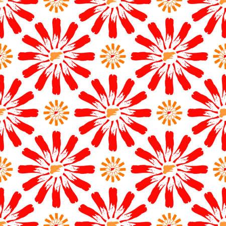 negligent: Background vector illustration seamless abstract pattern of brush strokes paint. Illustration