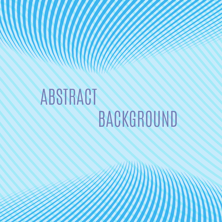 blue stripe: Abstract vector background illustration pattern blue waves.