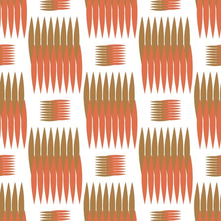 spikes: Background vector illustration seamless pattern of colored spikes.