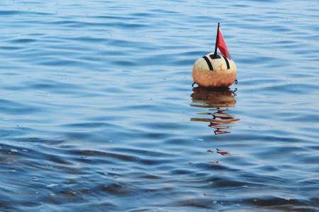 buoy: The surface marker buoy Stock Photo