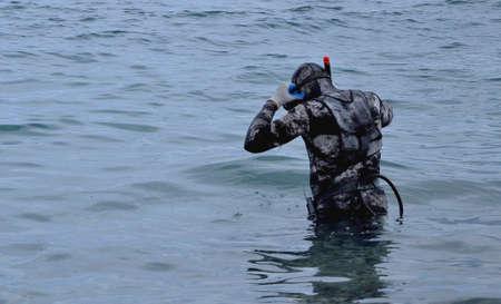 scuba diver: Scuba diver