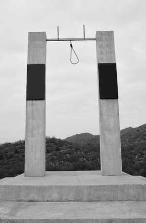 gallow: Horror place for hanging people During the war