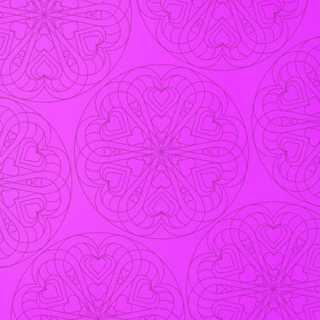 Seamless pattern with mandala element. Vintage decorative elements.  Islam, Arabic, Indian, Ottoman motifs. Stockfoto - 130609801