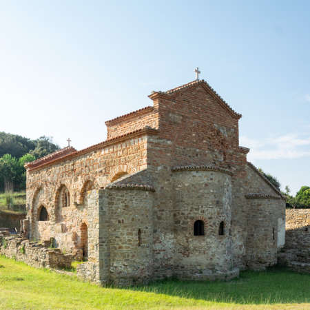 St. Anthony Church (known as Skanderbeg Cape) in Durrës, Albania.