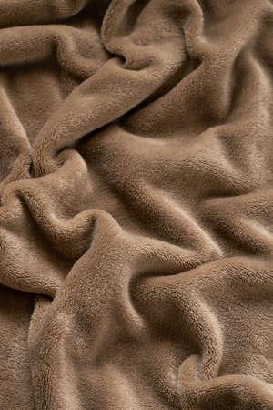 A warm blanket plush micro fleece fabric, swirled into a pattern background