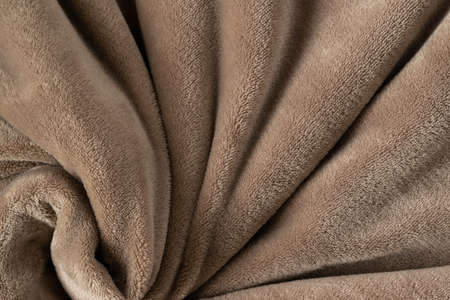 A warm blanket plush micro fleece fabric, swirled into a pattern background